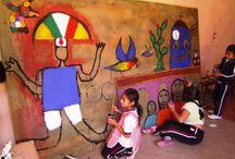Clases de artes plásticas / cuando nuestros niños dibujan, moldean plastilina, o cualquier otro tipo de material que se transforma en una expresión propia, están desarrollando artes plásticas.