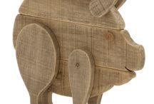 creature di legno