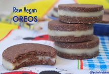 "Raw Vegan ""Oreos"" / Irresistible and so much healthier than the original version. They are raw, vegan, gluten-free, sugar-free and soy-free."