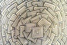 Kort zentangel