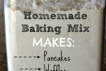 Homemade Goodness / Save time and money with these homemade recipes. Here you'll find everything from DIY Cleaners to the everyday items you use in your home!