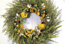 floral wreaths / by Dawn Duquet