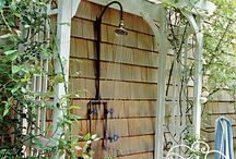 Pool Bathroom & Outdoor Shower Design Ideas / by Candace Tron-Keeler