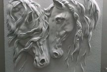 paarden hoofden