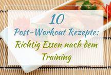 Essen nach Training