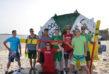 """Cardboard Boat Regatta / Sunrise Marine helped sponsor this event by supplying cardboard and a Yeti cooler. """"The Sound of Independence"""" at Hurlburt Field. Our team was the 801 Special Operations Aircraft Maintenance Squadron."""