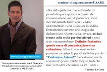 Frasi & Pensieri sui seminari di Giancarlo Fornei