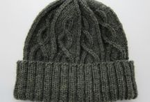 Men's knitted hats