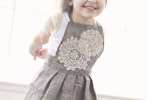 Sewing:  Little Girl Fashion