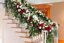 Staircases with Flowers