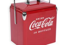 "Classic Coolers / This cooler is an exact replica of the 1940's through 1950's all steel ""six pack"" Temprite and Action Picnic Coolers. This junior model is the most popular of the collectible cooler."