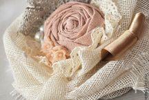 fiori di stoffa