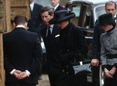 Diana's father earl Spencer's funeral