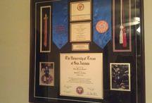 Diploma Display / by Kimberly Dailey