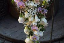 Brudebuketter med heng