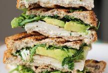 eat (sandwiches).