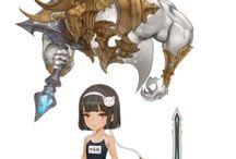 Character/Design - female