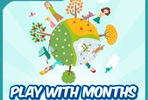 Play With Months / Your kid doesn't know about months or seasons? Then download this best Memory Game for your kid Sometimes people specially buy books for their kids so that they can learn something new but those kids who are not a books lover and want to play games or who can learn by just playing something then for those this memory app is best. Download Now : https://play.google.com/store/apps/details?id=com.littletreehouseapps.playwithmonths