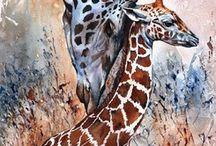 DIY - Art, watercolor schilderijen