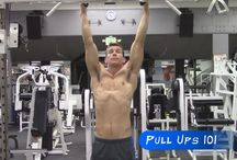 Pull Ups 101 / Learn how to Train for Pull Ups!  Start with basic exercises to strengthen the muscles involved with any pull up movement and learn how to do more advanced pull ups variations when you're ready!