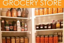 Storage, salvatory, warehouse space for food products
