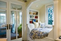window seats and bed nooks / by Cindy Malone