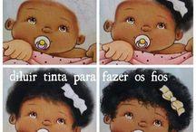 Peinture bébé