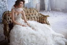 Fairytale Ball Gown Wedding Dresses / Ball gowns wedding dresses. Find designs at www.belledemoiselle.co.za
