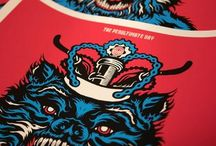 Event Posters / Amazing screen printed posters from our event series.