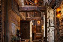 dom drewno