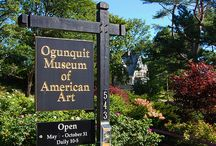 OMAA / The Ogunquit Museum of American Art (OMAA) was founded by Lost Generation artist Henry Strater and opened in 1953. Closely connected to two of America's earliest art colonies that directly contributed to the roots of American modernism, OMAA today houses a permanent collection of important paintings, sculpture, drawings, prints and photographs from the late 1800s to the present.