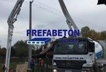 Aktuálne v PREFABETON-DIVIAKY / Aktuality aktivít v oblasti betonárskych prác