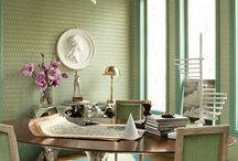 : DINING ROOMS : / dine in style.