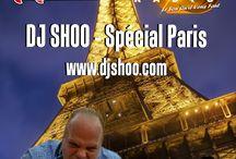 DJ SHOO - SPÉCIAL PARIS / DJ SHOO - SPÉCIAL PARIS A new adventure this friday 18h00 (midnight in Europe) on Atomik Radio whith DJ SHOO www.djshoo.com & www.atomik-radio.fr