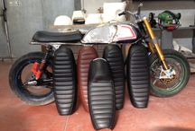 Kompo-tech triumph seat / Some of our seat for the hinkley triumph