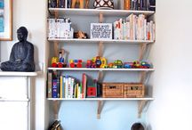 Book Nooks / Special spaces to enjoy reading your library books.  Creative ways to arrange your home library, too.