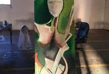 My Art in Progress / Paintings, sculptures and drawings I am working on