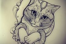 Tattoo inspiration - Cats