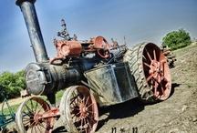 Old Tractors / All kinds of old tractors  / by Robert Scrivener