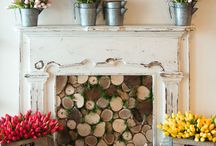 Mantel Design / Ideas to keep your mantel looking great all year round.