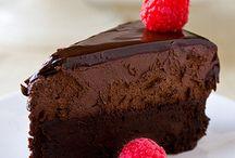 Desserts : Mousse and bavarois cakes