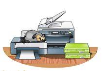 Сказки от Ризографа Домовенок / Есть у нас на сайте маленький уголок сказок, он так и называется Уголок Домовенка