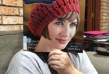 Crochet red hat / Crochet