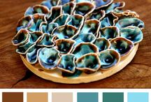 ceramic colour pallet