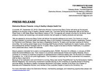 DW Press Release / Press Release on Events held