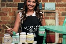Fusion Paint / Our new paint line at Fine Designs & Interiors