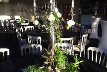 Table centerpieces woodland chic!! / Exquisite, bespoke table centerpieces designed to bring the outside in for an enchanting evening.