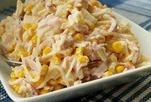 Recepty vaření, saláty a fitness