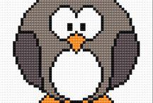broderi pingvin