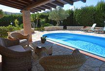 Villa Gioia, Castellammare del Golfo Sizilien /  Möchten Sie im September vielleicht noch kurzfristig etwas Sonne tanken?   Dann wäre ein Ferienhaus auf Sizilien sicher genau das richtige für Sie:   Villa Gioia, Castellammare del Golfo